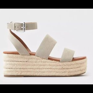American Eagle Double Strap Wedges